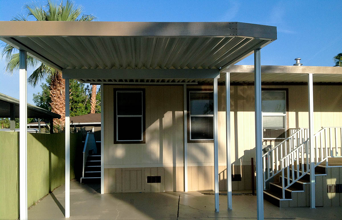 Mobile Home Awning Carport By Aladdin Patios