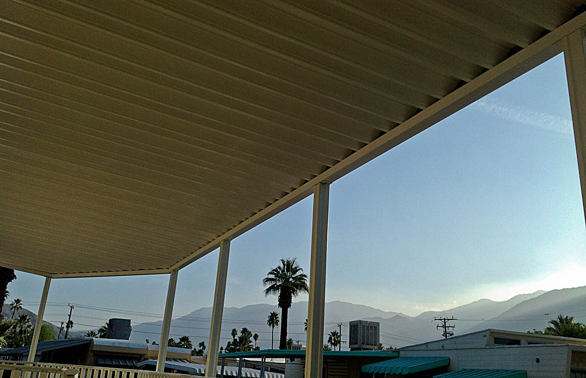 Aladdin Patios Image Gallery - Mobile Home Awnings