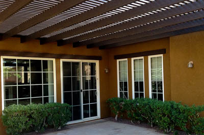 Alumawood Laguna Lattice Patios by Aladdin Patios